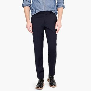 J. Crew ludlow navy blue slim suit pants